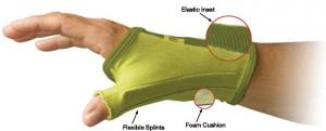 Creative Comfort CC82307 Crafter's Thumb Glove, LARGE, Home or Commercial Sewing