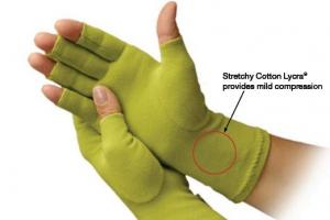 Creative Comfort CC82308 Ergonomic Crafters Comfort Glove SMALL, for Home or Commercial Sewing Cutt