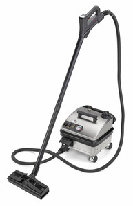 Vapor Clean Pro 6 Steam Vapor Cleaner, Continuous Fill, Accessories, 1800W, 75PSI, 15' Cord, Heats in 4 Minutes, 11.5' Hose