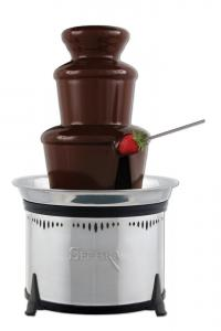 Sephra, CF16E-ST, Select, Fondue, Chocolate, Fountain, 9x16 Inch Tall, 3-4 Lb Capacity, Brushed, Stainless Steel, Finish, 6 Piece Tier, Whisper Quiet, On Off