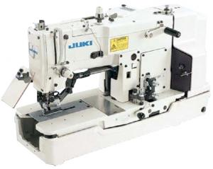 Juki LBH-782U Buttonhole Machine with 25.4mm Buttonhole Width, Complete with Table, Stand and Motor, 3,600rpm