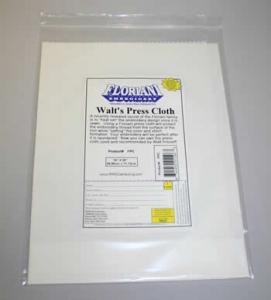 Floriani Pressing Cloth FPC Walts Press Cloth 14x28&quot; WHITE