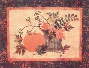 Laundry Basket Quilts LBQ22 Fall Memories Quilt & Table Runner Pattern