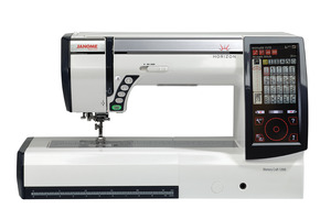 "Janome Horizon Memory Craft 12000 Embroidery Sew Quilt Machine, 9x12""Hoop, 11""Arm, 15""Plate, 9mmStitches, Sep Emb Unit, 1000SPM, Horizon Link Software"