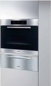 Miele H4886BP Europa Design Convection Oven, Master Chef Touch Control, 17 Operating Modes. Electronic temperature Control, FlexiClip Extension Rack, Clean Touch Steel, Square Handle