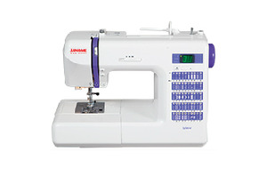 Janome, Decor,DC2014, +25/5Yr, Extended, Warranty, 50 Stitch, Computer, Sewing Machine,  1 tep BH, Memory, Needle Up, Down, Speed Limit, Threader, 1/4 inch, Walking Foot, Case
