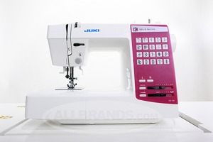 Juki, HZL-K65, 20 Stitch, Computer, Sewing, Machine, 1 Touch Select, Start Stop, Speed Control, 1 Step Buttonhole, Threader, Top Bobbin, Drop Feed 15NP 16Lb