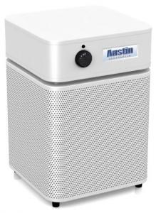 Austin Air HM200 Health Mate Jr. Junior HEPA Standards Air Purifier Cleaner, 360 Intake, 700 Sq Ft, 3 Speed, 1-2 Rooms, 18Lbs - Consumer Guide Budget Buy