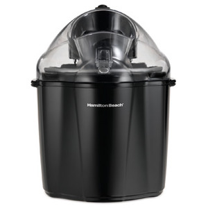 New Hamilton Beach 68321 1.5-Quart Capacity Ice Cream Maker, Black