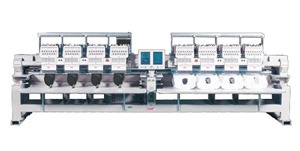 SWF K-UH1508D-45 Class 4 Eight Head Dual Function Type Automatic Embroidery Machine