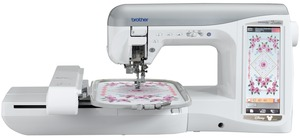 "Brother, NV4500D, Duetta, babylock ellegante blg2, babylock ellegante 2, ellegante blg2,  ellegante, Brother, NV4500D, Duetta, 576 Stitch, Sewing, & 7x12"" Embroidery Machine, 134 Disney Designs, Electronic Needle Threader, 2 USB, Memory Stick & Card Ports, Brother NV4500D Duetta, Free PED Next & BES, 576Stitch Sewing 7x12Embroidery 300Design 134Disney ElectronicThreader, 1000CD USBstick Edit Format Color"