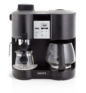 Krups XP1600,  Krups XP1600 Espresso Machine, Coffee Espresso, Combination Coffe and Espresso Machine,