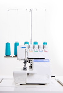 Juki MO-735, MO735, 735, Best  5-4-3-2, Thread Serger, Safety Stitch, Chainstitch,  2-3 Needle, Coverstitch, Overlock Machine, 8 Feet, Video,