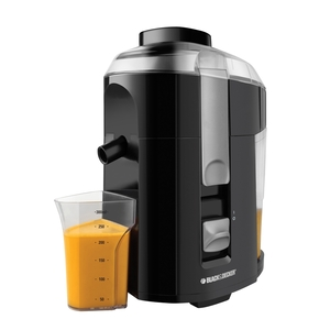 In Stock Black & Decker® JE2200B Fruit and Vegetable Juice Extractor, Black