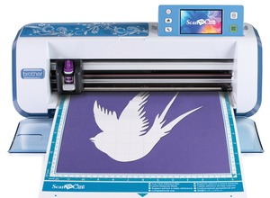 "Brother, Scan N Cut, CM550DX, 12"" Digital, Scanner, & Cutter, BLUE, Free Standing Digital Scanner & Cutter 300DPI TouchScreen USBPort, 840Design Font Quilt Applique, Draw, Layout, Save"