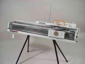Artisan JBL-245 Standard Gauge Punchcard Knitting Machinewith Ribber