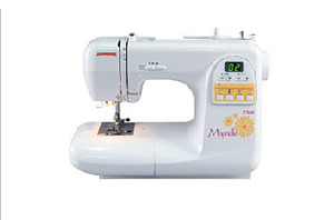"Janome, Magnolia, 7360, 60 Stitch, Computer, Sewing Machine, Walking Foot, 1/4"" Foot,"