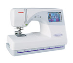 "Janome MC9700 & 25/10YrExtWnty* (MC9500+Color Screen) 5.5x7.9"" Hoop Embroidery Sewing Quilt Machine 96Designs 3Fonts Resize 90-120% ATA Card Port .jef"