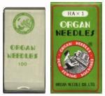 Organ 15x1ST, HAx1ST Home Embroidery Machine Needles, Box of 100, Specify Size 11,  for Brother, Babylock, Janome, Elna, Kenmore, Singer, White, Bernina DECO